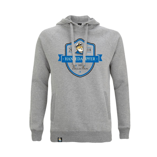 HD-Collection Hoodie Heather Grey